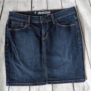 🍍3/$40 Denizen by Levi's, like new Denim Skirt, 6